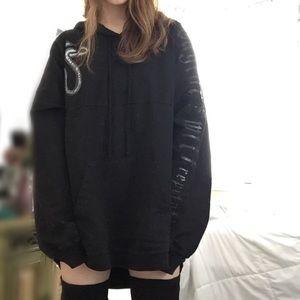 taylor swift reputation rep hoodie sweatshirt L
